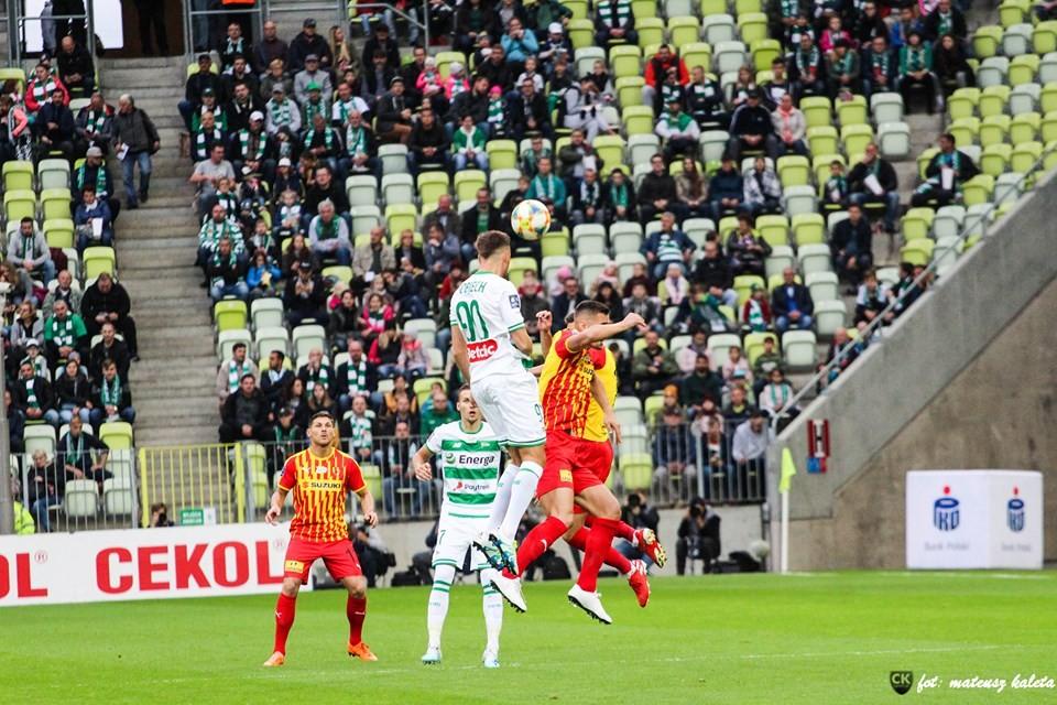 Korona miała w Gdańsku swoje okazje, ale przegrała. Już szósty raz w dziewiątym meczu...