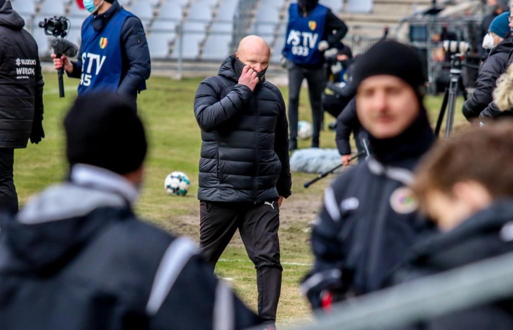 Maciej Bartoszek nie jest już trenerem Korony Kielce