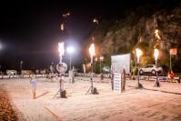 FOTO: Tenis plażowy na kieleckiej Kadzielni. Swoich sił spróbował... prezydent Wenta