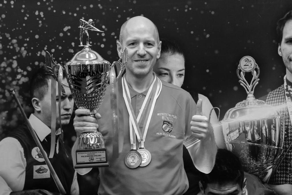 Odszedł Mirosław Piróg. Propagator sportu bilardowego w regionie