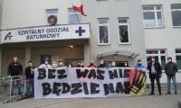 Kibice Korony Kielce pomagają szpitalom. Pierwsze wsparcie dotarło już do placówek
