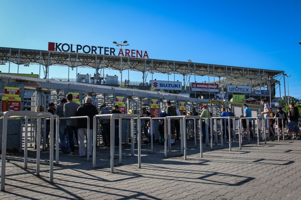 Kielecki stadion pozostanie Kolporter Areną. Klub i firma przedłużą umowę