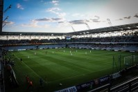 Suzuki Arena cała na biało. Kielecki stadion szykuje się do wzowienia rozgrywek