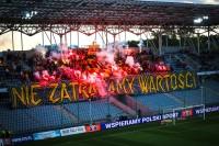 Kibice Korony Kielce zabrali głos ws. ogólnopolskich protestów