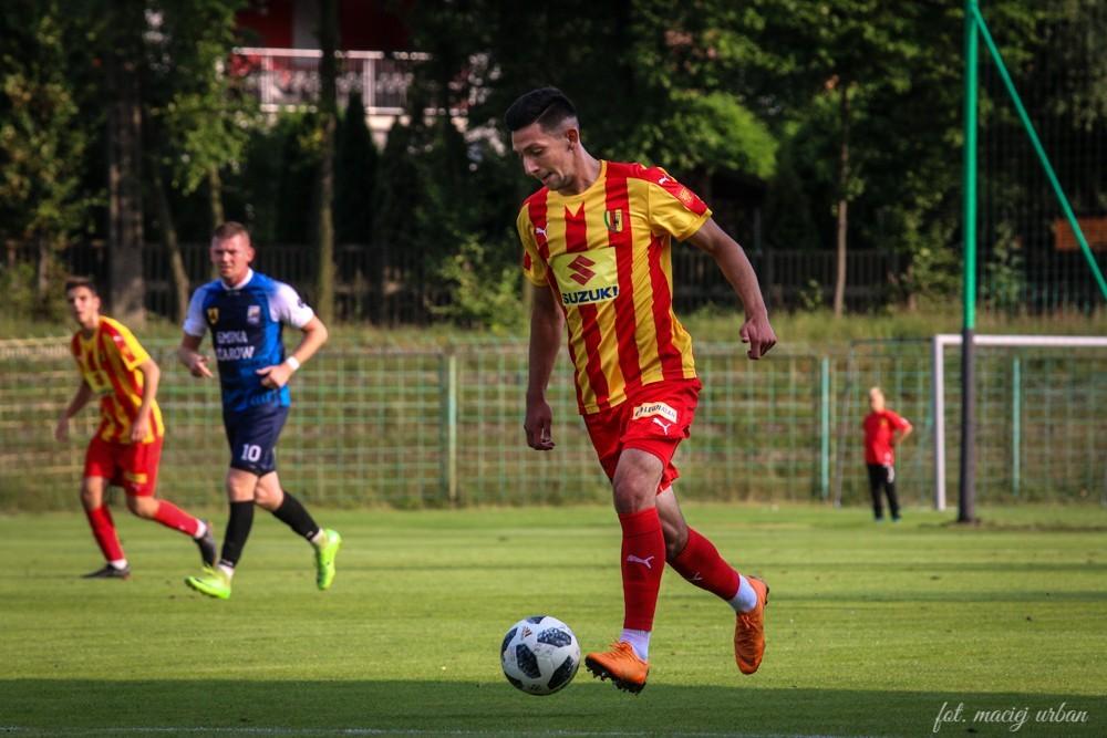 Korona II rozegra w niedzielę przy Szczepaniaka mecz na szczycie IV ligi