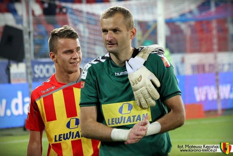 Małkowski bezkonkurencyjnie bohaterem meczu w Zabrzu