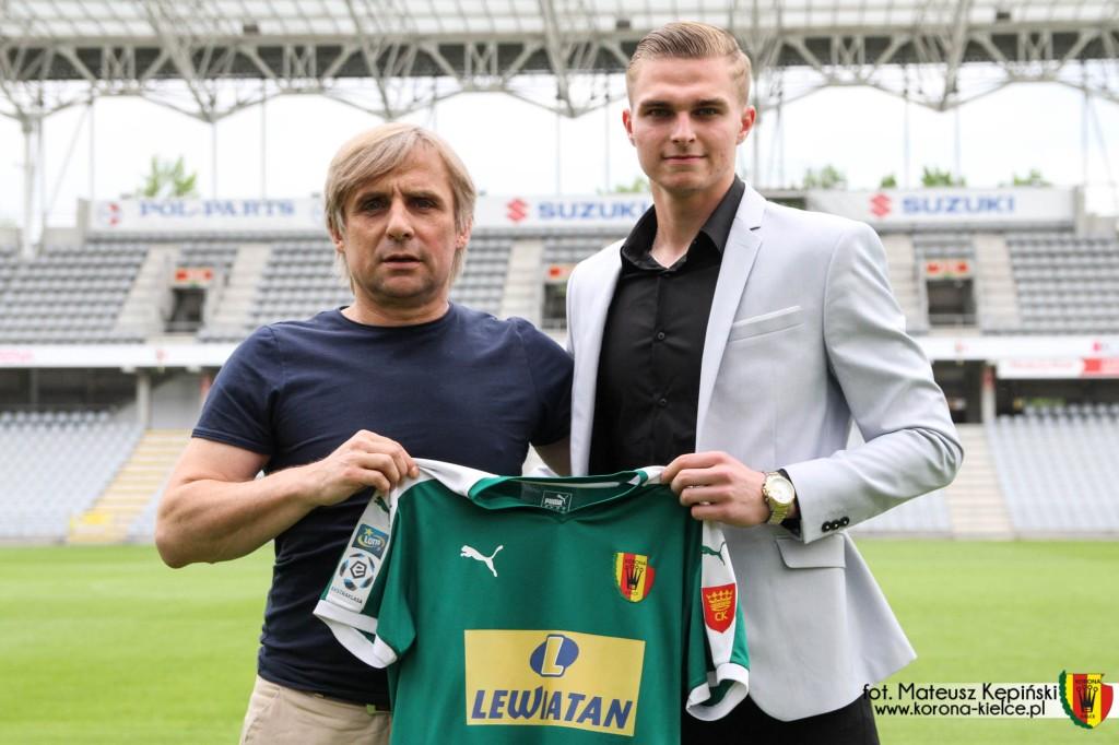 Korona ma nowego bramkarza! Paweł Sokół wrócił do Kielc z Manchesteru City