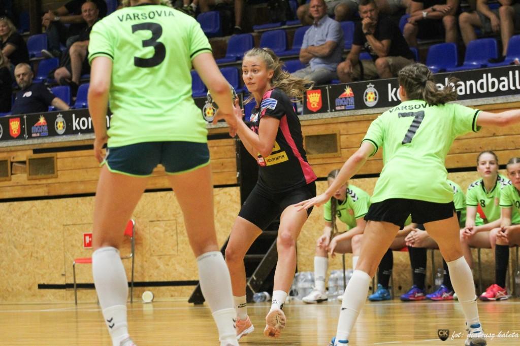 FOTO: Korona Handball wygrała z Varsovią. Liga coraz bliżej!
