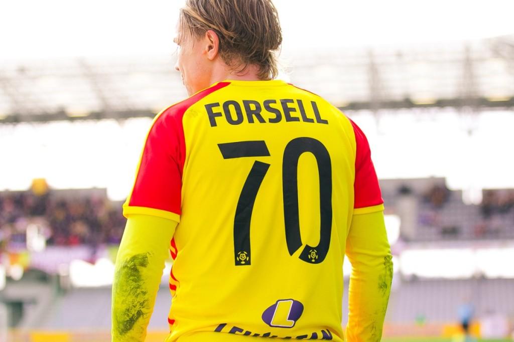 Pracowała cała drużyna, błyszczał Forsell. A za nim Cebula i Kiełb