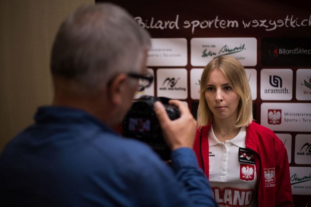 Bilard: Czupryńska i Skowerski z brązem mistrzostw Europy