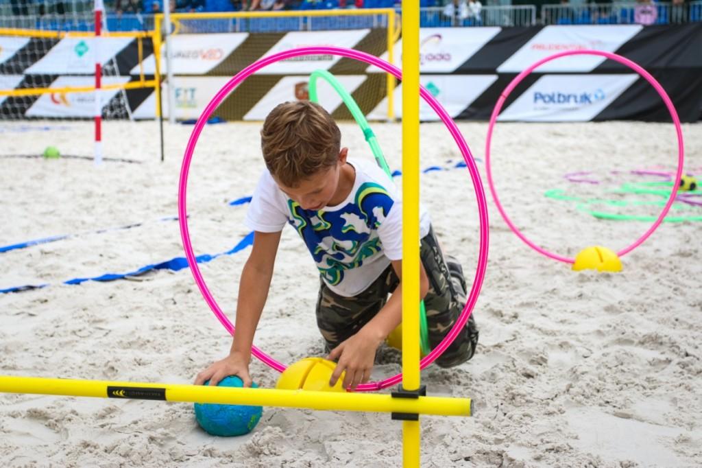 FOTO: Turnieje w plażową piłkę ręczną i Mini Handball Academy dla najmłodszych