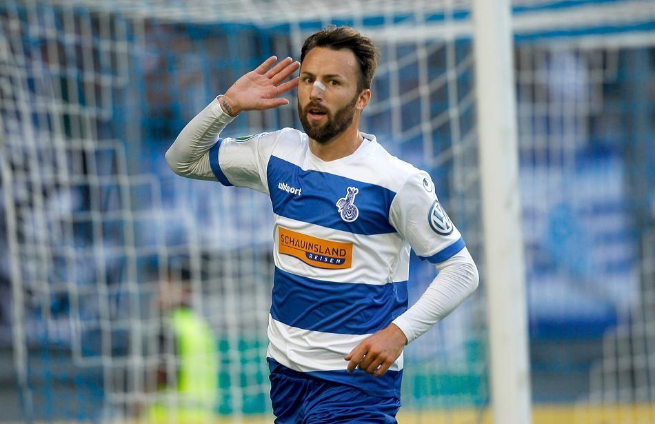Władze Duisburga dziękują nowemu piłkarzowi Korony. Żegnają go po mistrzowsku