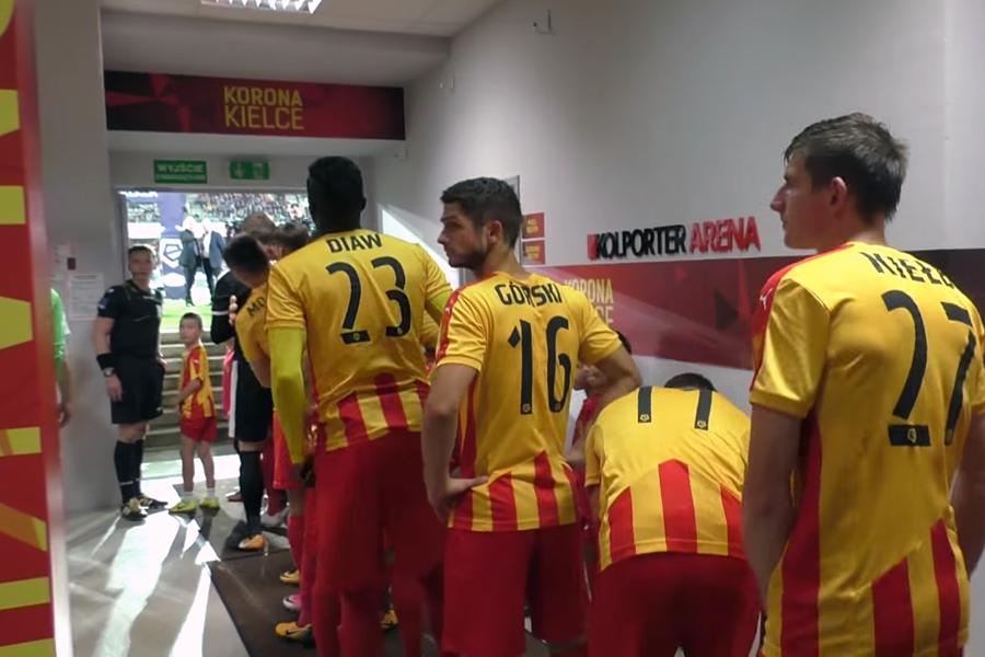 Piłkarze Wisły znów na koniec mieli pogawędkę... Kulisy meczu z Koroną (video)