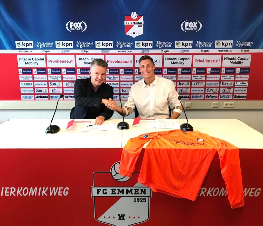 Hamrol poszedł w ślady Soriano. Zagra w holenderskiej Eredivisie