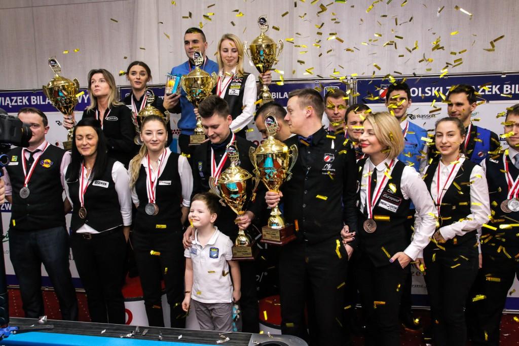 Mistrzostwa Polski w Bilard – Kielce 2017 - Ogromny sukces organizacyjny i sportowy!