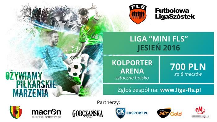 Mini FLS - kolejne rozgrywki dla amatorów futbolu w Kielcach