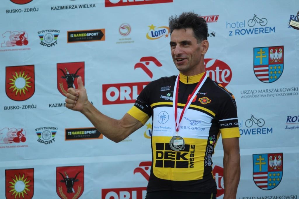 Kolejny medal dla Kielc w mistrzostwach Polski w kolarstwie szosowym