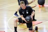Zawodnicy Łomży Vive trenowali z AZS UJK Kielce