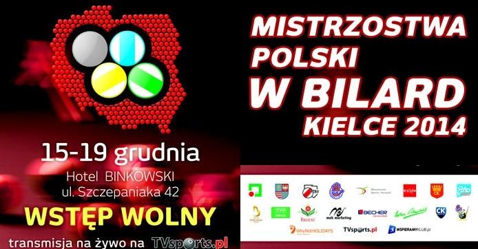 W Kielcach trwają bilardowe Mistrzostwa Polski