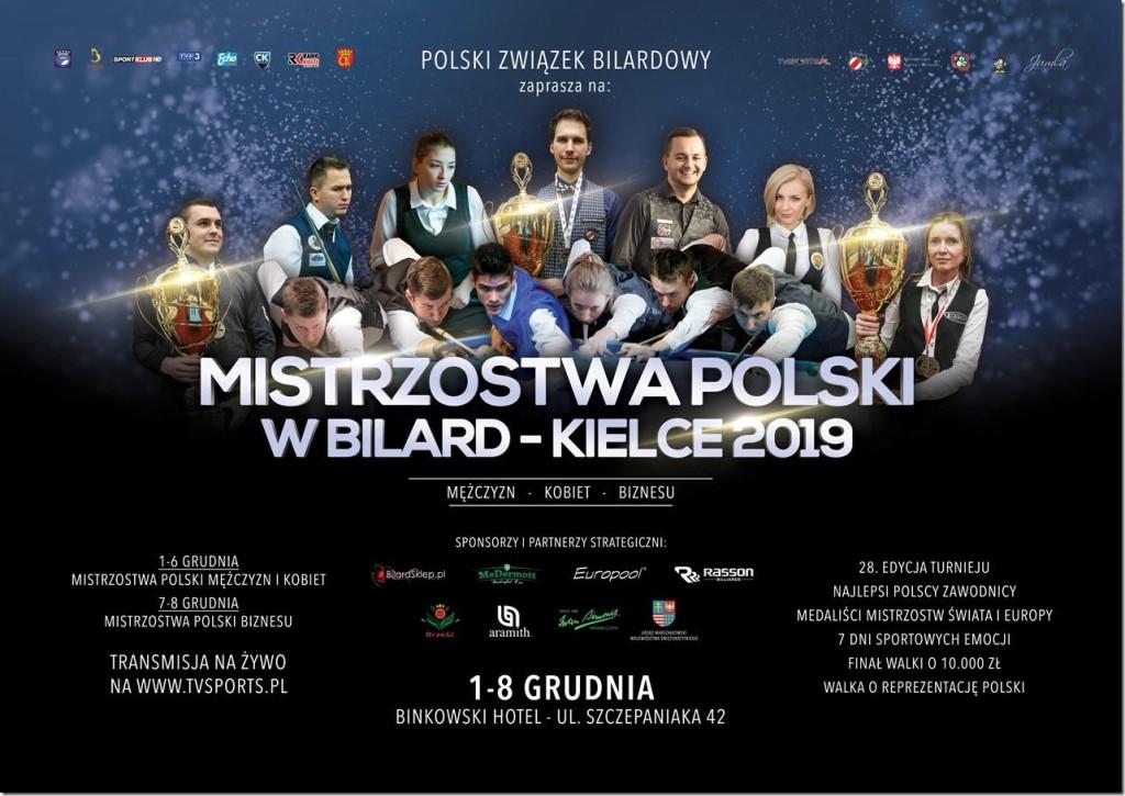 Najlepsi bilardziści Polski rywalizują w Kielcach
