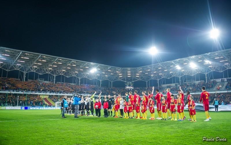 """Co po Grechucie na meczach Korony? Zostanie zorganizowany konkurs na """"nowy hymn"""""""