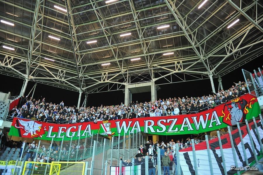 Kibice Legii Warszawa nie przyjadą do Kielc na mecz z Koroną