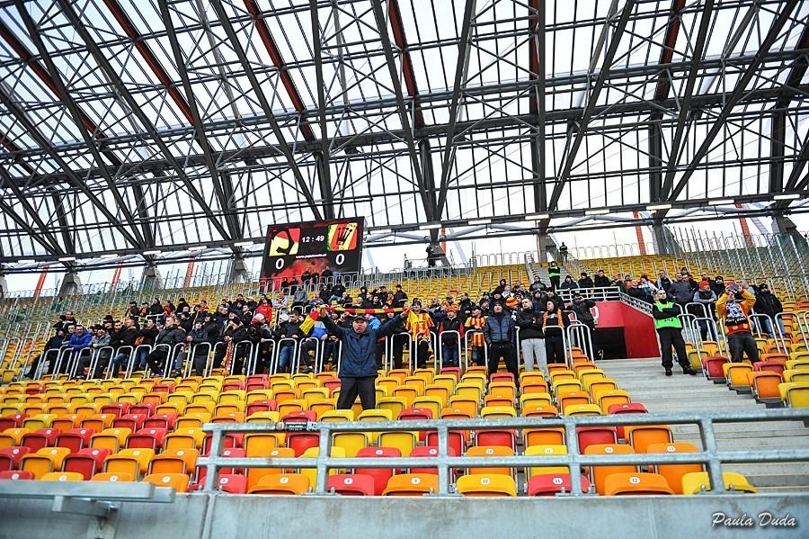 Kibice Korony ukarani zakazem wyjazdu na mecz w Białymstoku