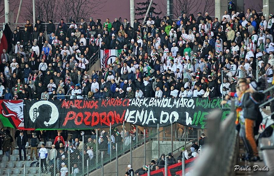 Legia ma zakaz. Czy Korona otworzy sektor gości dla kibiców z Kielc?