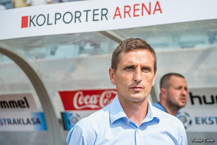 Brosz: Jedziemy na teren mistrza Polski, ale piłka jest nieobliczalna i to właśnie jej piękno