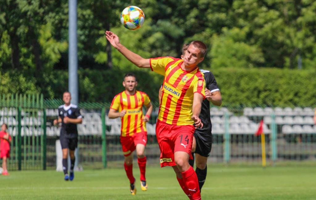 Artur Piróg zadebiutował w Koronie Kielce
