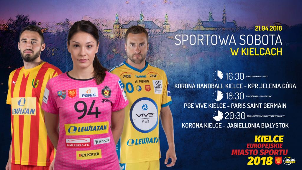 Sportowa sobota w Kielcach! Aż trzy mecze jednego dnia