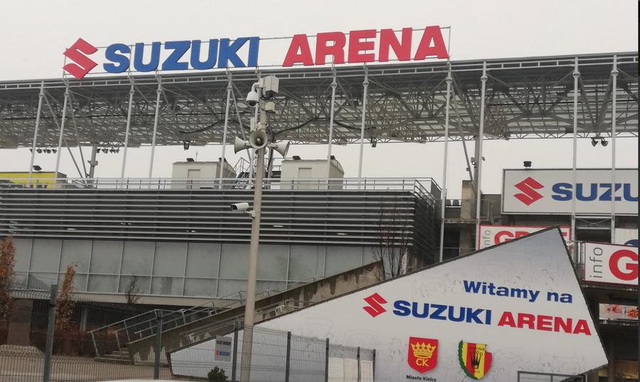 Suzuki Arena gotowa na przyjęcie piłkarzy. Ale pogoda nie sprzyja