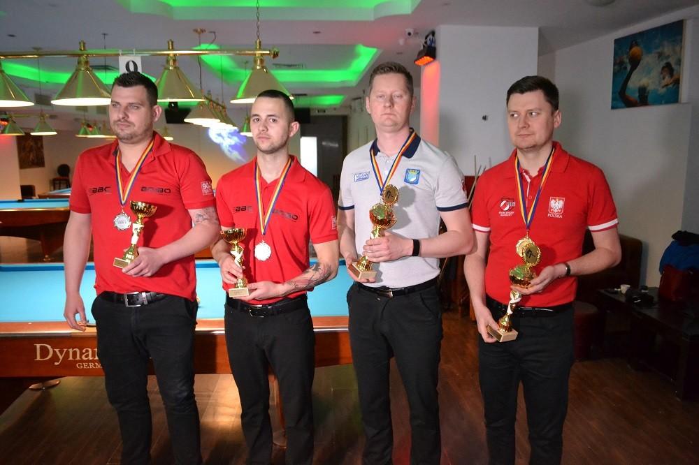 Sukcesy kieleckich zawodników na turnieju bilardowym w Rumunii