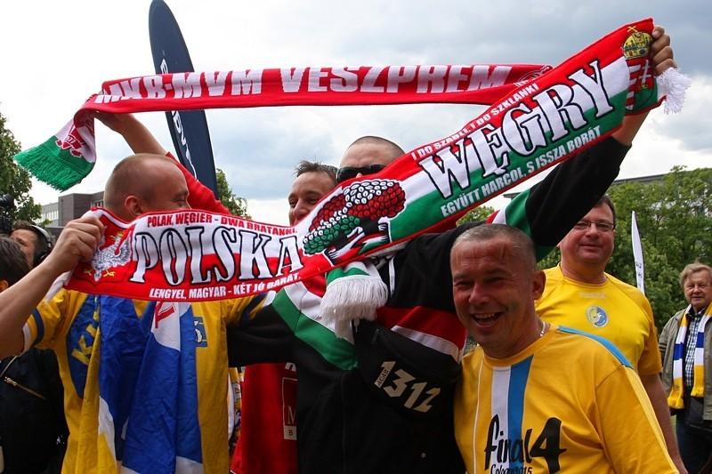 Polak, Węgier, dwa bratanki! Kibice Veszprem zaprzyjaźnieni z fanami Vive