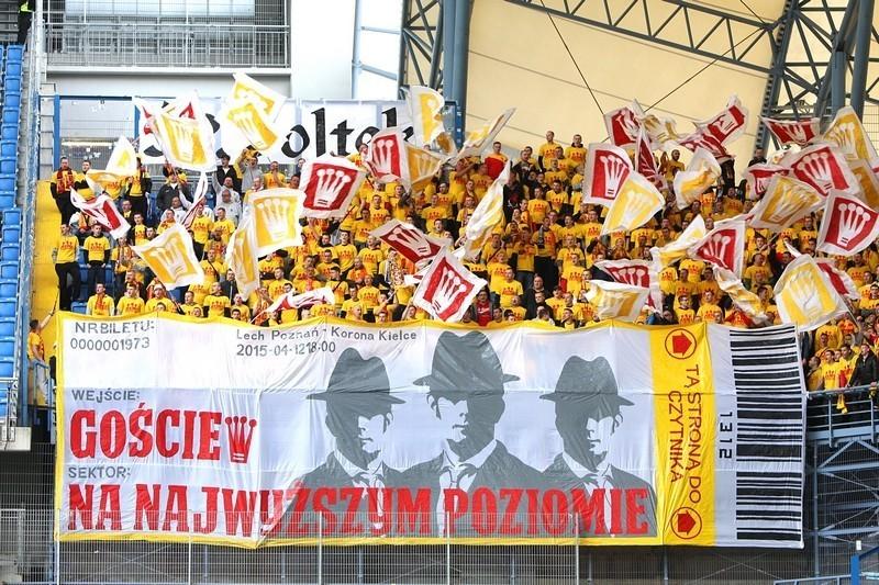 Wielka mobilizacja kibiców Korony na mecz z Legią. Organizują wspólny wyjazd!