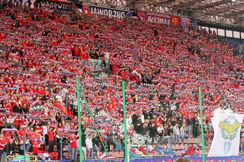 Po meczu w Kielcach. Kibice Wisły z zakazami stadionowymi