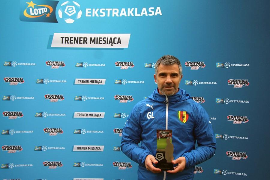 Gino Lettieri najlepszym trenerem października w Lotto Ekstraklasie!