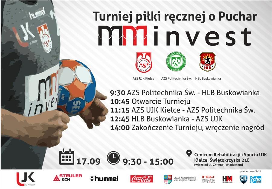 W sobotę turniej handballa w Kielcach. Zagrają o Puchar MM INVEST