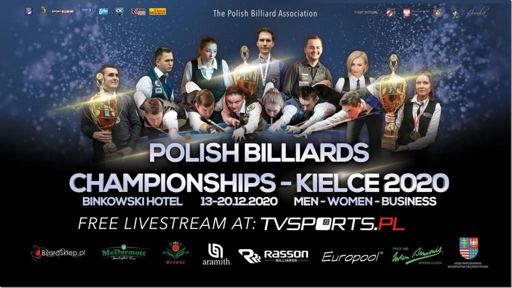 W Kielcach ruszają Mistrzostwa Polski w Bilard. Kielczanie w gronie pretendentów do medali