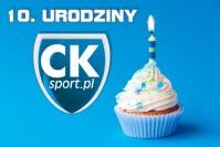 Dziś są nasze urodziny! CKsport.pl kończy 10 lat