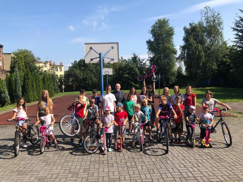 Potrzebne wsparcie na wyremontowanie dzieciom 90 rowerków